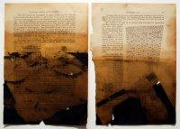 26,5x19 cm, Öl Tinte auf Papier